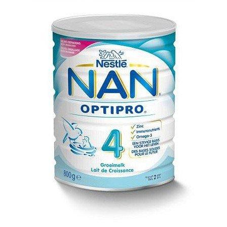 Nestle NAN Бебешко адаптирано мляко  4 Обикновено BL 800 гр.